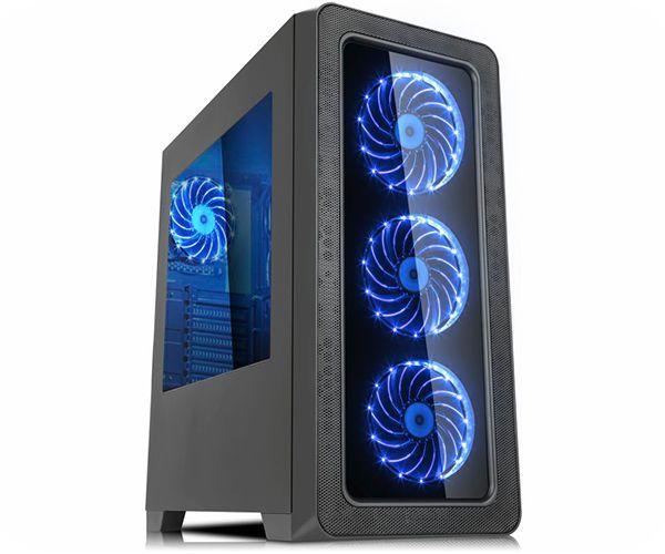 Computador Gamer - Intel Core i5-9400F 9ª Geração, 8GB DDR4 + 16GB Optane, HD de 1TB, Placa de Vídeo GTX1060, Fonte 500W Real