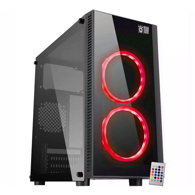 Computador Gamer - Intel Core i5-9400F 9ª Geração, 8GB DDR4, HD de 1TB, Placa de Vídeo GTX1050 2GB, Fonte 500W Real
