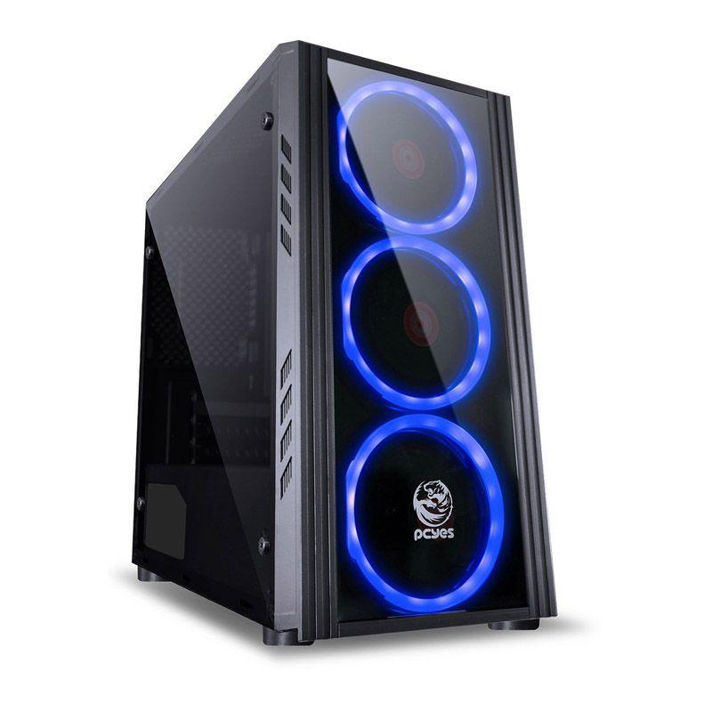 Computador Gamer - Intel Core i5 9400F de 9ª Geração, Placa B360,  8GB DDR4, HD de 1TB, Placa de Vídeo RTX2070 8GB, Fonte 600W Real