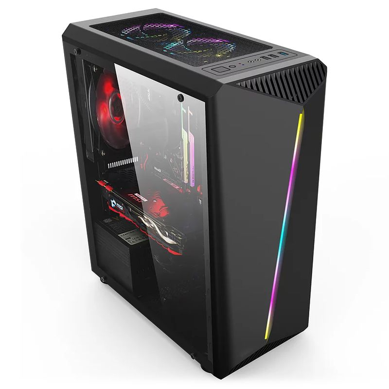 Computador Gamer - Intel Core i5 9400F de 9ª Geração, Placa B360,  8GB DDR4, HD de 1TB, Placa de Vídeo GTX1660 6GB, Fonte 600W Real