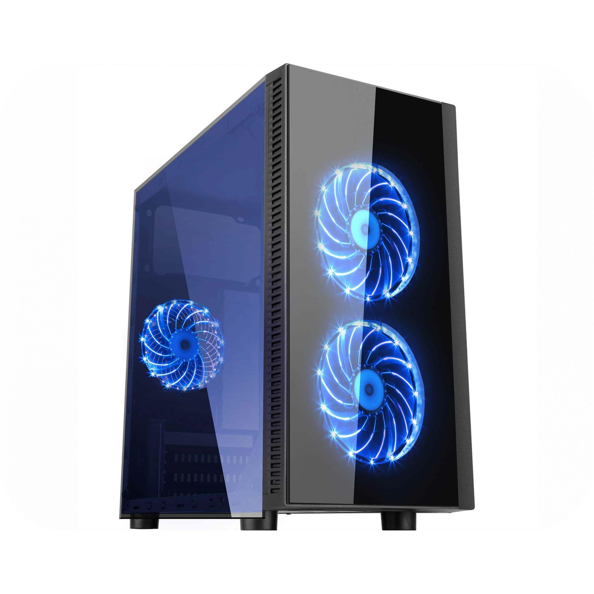 Computador Gamer Intel Core i5 - Memória 8GB, HD 1TB, Placa de Vídeo GTX1050TI 4GB, Fonte 500W Real, Gabinete Narnia