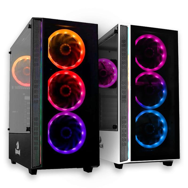 Computador Gamer - Intel Core i7-10700F 10ª Geração, 16GB 3000MHz, SSD 480GB, Placa de Vídeo RTX3080 10GB, Fonte 650W Real