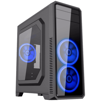 Computador Gamer - Intel Core i7-7700 7° Geração, 8GB DDR4, HD de 1TB, Placa de Vídeo GTX1060 3GB, Fonte 500W Real