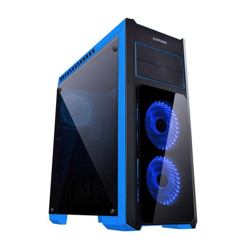 Computador Gamer - Intel Core i7-7700 7° Geração, 8GB DDR4, Placa Mae H110M, HD de 1TB, Placa de Vídeo GTX1050 3GB, Fonte 500W Real