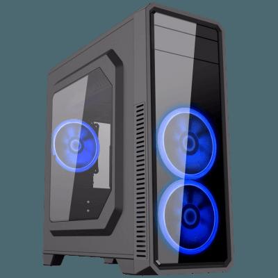 Computador Gamer - Intel Core i7-7700 7° Geração, 8GB DDR4, Placa Mae H110M, HD de 2TB, Placa de Vídeo GTX1050TI 4GB, Fonte 500W Real *