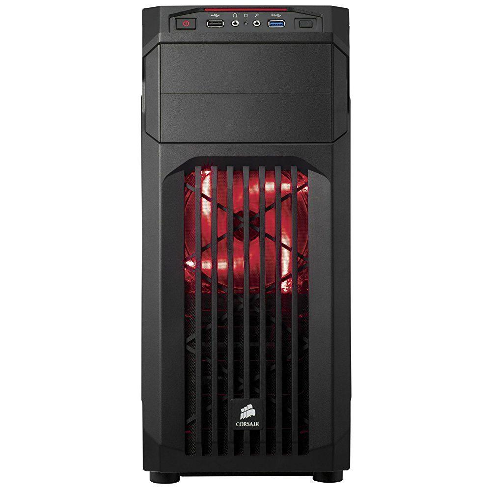 Computador Gamer - Intel Core i7-7700 7° Geração, 8GB DDR4, Placa Mae H110M, HD de 2TB, Placa de Vídeo GTX1060 6GB, Fonte 500W Real