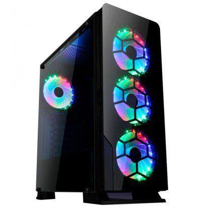 Computador Gamer - Intel Core i7-9700F 9º Geração, 16GB DDR4 2666mhz, HD 1TB, Geforce RTX2070 8GB, Fonte 600W Real