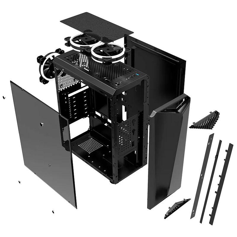 Computador Gamer - Intel Core i9 9900KF, 8GB, HD 1TB, GTX1660 6GB, Fonte 600w