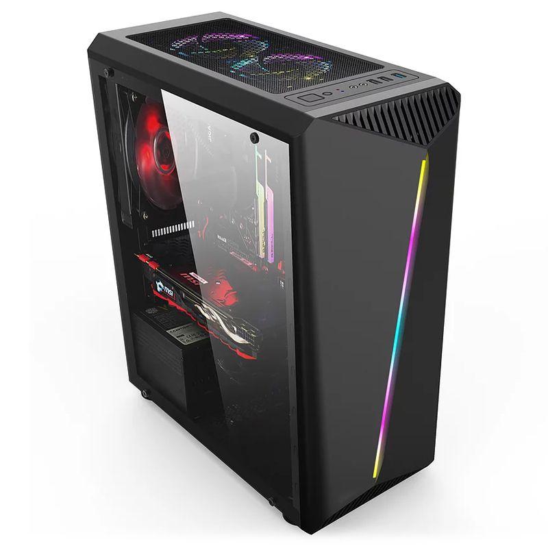 Computador Gamer - Intel Core i9 9900k, 8GB, HD 1TB, RX580 8GB, Fonte 650w