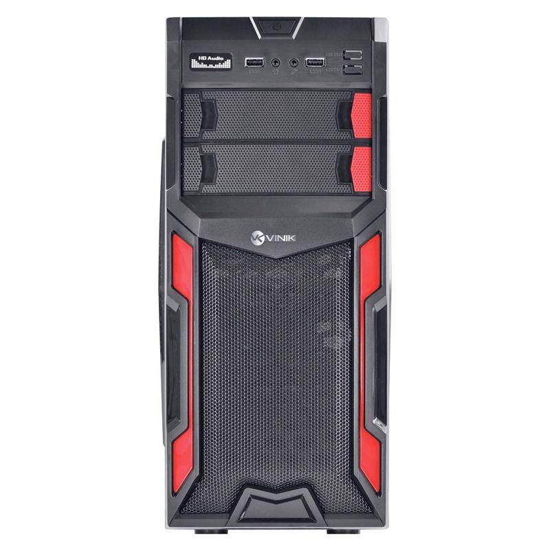 Computador Gamer Pentium - Intel Pentium Core G4400, Memoria 4GB DDR4, HD 1TB, Placa de Vídeo GeForce 2GB, Fonte 650w