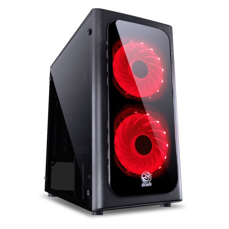 Computador Gamer Pentium - Intel Pentium G5400, 8GB, 1TB, GeForce GTX 1650 de 4GB, Fonte 500w Real