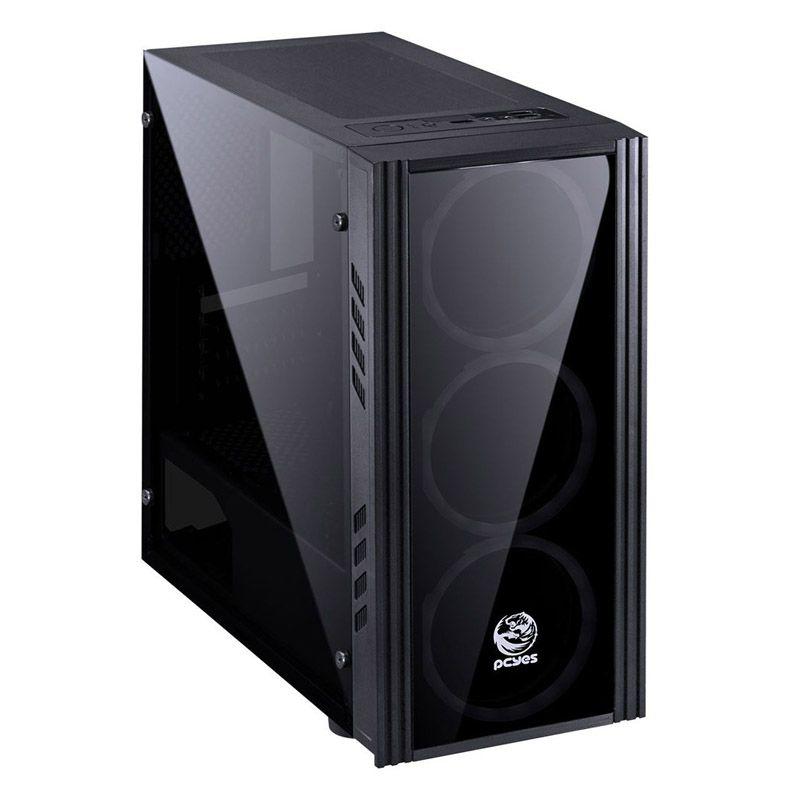 Computador Gamer Ryzen 5 2600x - 1TB, 8GB DDR4, VGA RX580 4GB, Fonte 500w