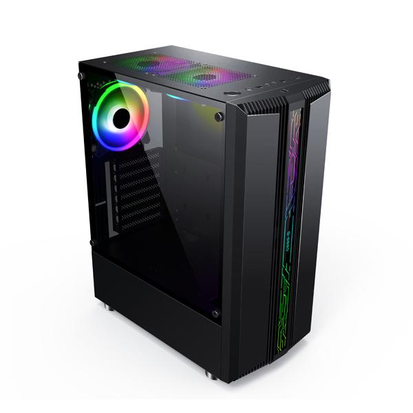 Computador Gamer Ryzen 5 (6-Cores 12-Threads), 8GB DDR4, HD 1TB, Radeon RX550 4GB, Fonte 500w