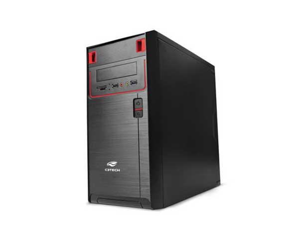 Computador Intel Core i3 - 3.9GHz (7ª Geração), 4GB de Memória, SSD de 240GB, HDMI, Gabinete ATX