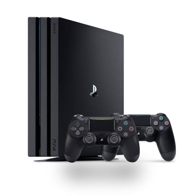 Console Playstation 4 PRO c/ 2 controles - 4K, HD 1TB, HDMI