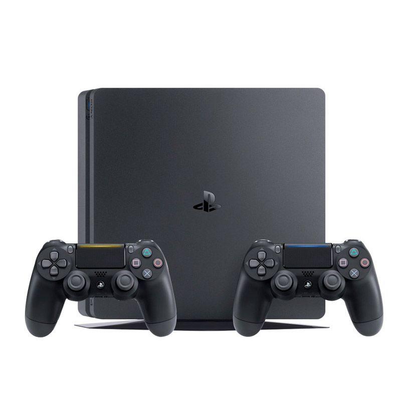 Console Playstation 4 Slim 1TB c/ 2 Controles, Processador Octa-Core - PS4