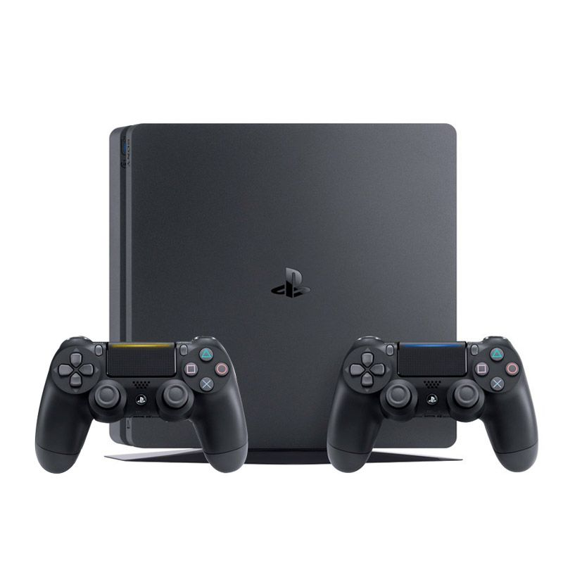 Console Playstation 4 Slim 1TB + Star Wars Battlefront 2 -  2 Controles Dualshock 4 - PS4