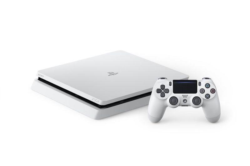 Console Playstation 4 Slim - HD 500GB, Processador Octa-Core, Controle Dualshock 4 - PS4 (Branco)