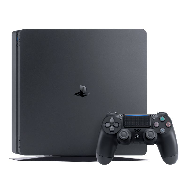 Console Playstation 4 Slim 1TB + Star Wars Battlefront 2 -  Dualshock 4 - PS4