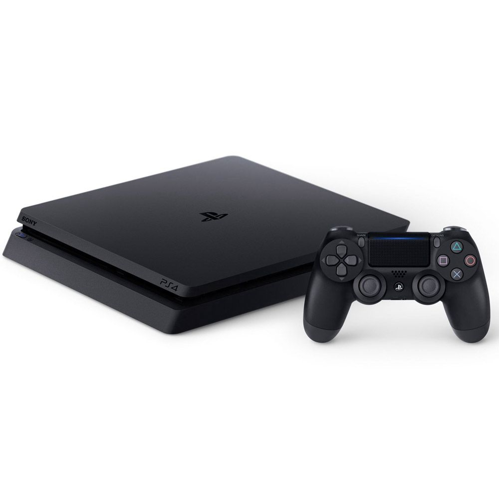 Console Playstation 4 Slim + Jogo The Last of US - HD 500GB, Octa-Core, Controle Dualshock 4 - PS4