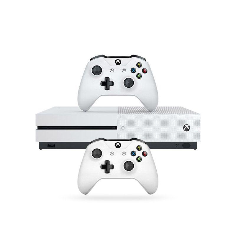 Console Xbox One S 500GB c/ 2 Controles Wireless, 4k, Cabo HDMI