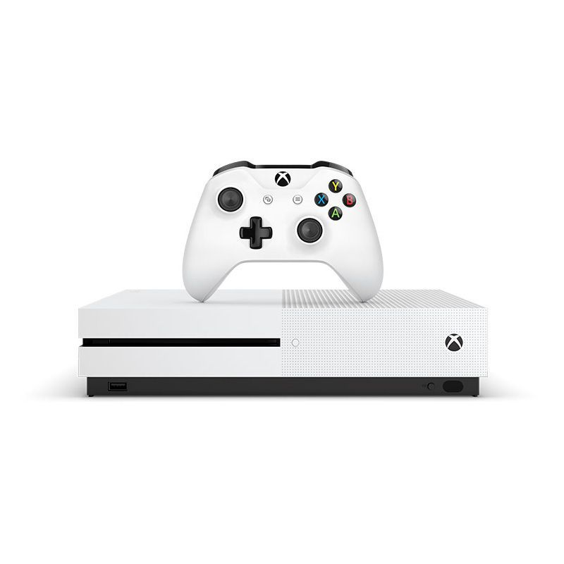 Console Xbox One S 500GB - 4k, Controle Wireless, 3 Meses de Xbox Live Gold e Game Pass
