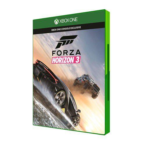 Console Xbox One S 1TB + Forza Horizon 3 - 4k, Controle, HDMI