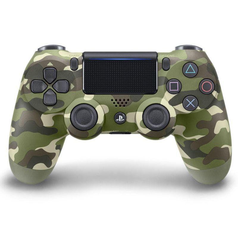 Controle Playstation DualShock 4 Camuflado Verde - PS4 Slim e Pro