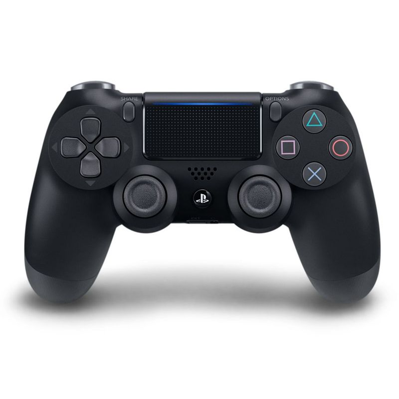 Controle Playstation DualShock 4 Jet Black / Preto - PS4 Slim e Pro *