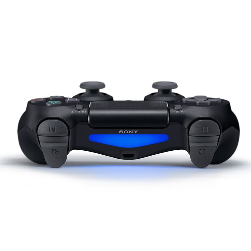 Controle Playstation DualShock 4 Jet Black / Preto - PS4 Slim e Pro