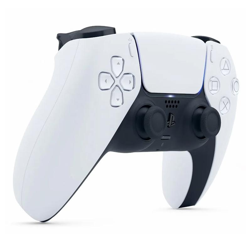Controle Sony DualSense PlayStation 5 Branco / Preto - PS5