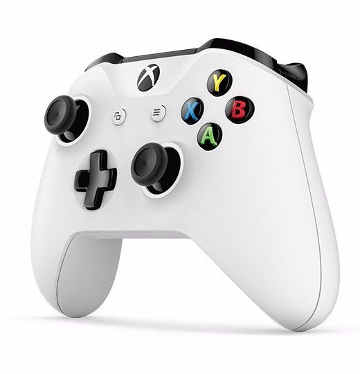 Controle Xbox One - Wireless, Bluetooth - Branco, modelo One S / One X