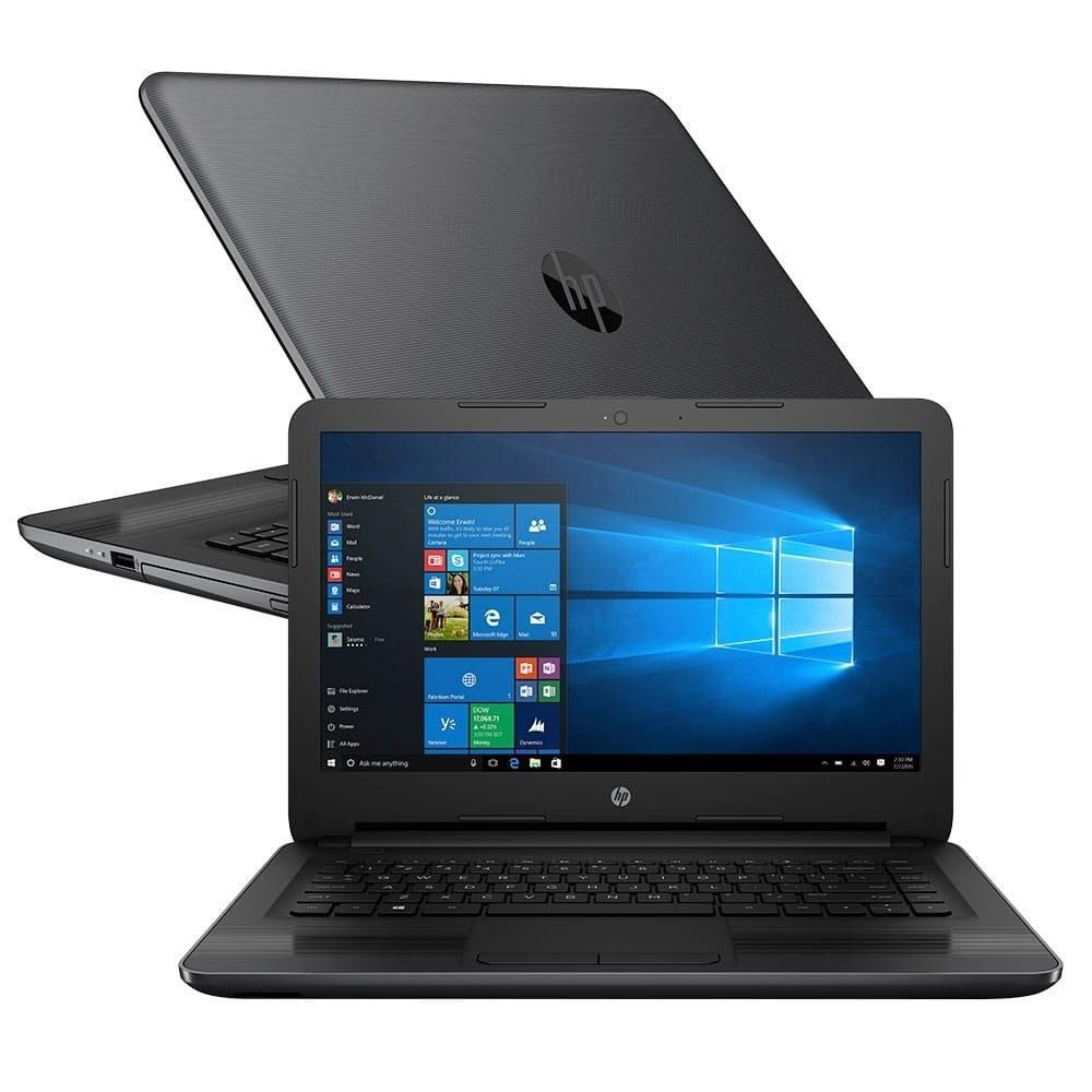 "Notebook HP 246 - Intel Core i5 de 7ª Geração, Memória de 8GB, Hd 500Gb, Tela LED de 14"" e Windows 10 PRO"