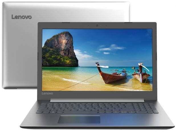 "Notebook Lenovo Ideapad 330 - Intel Dual Core, Memória de 4GB, HD de 1TB, Tela de 15.6"", Windows 10"