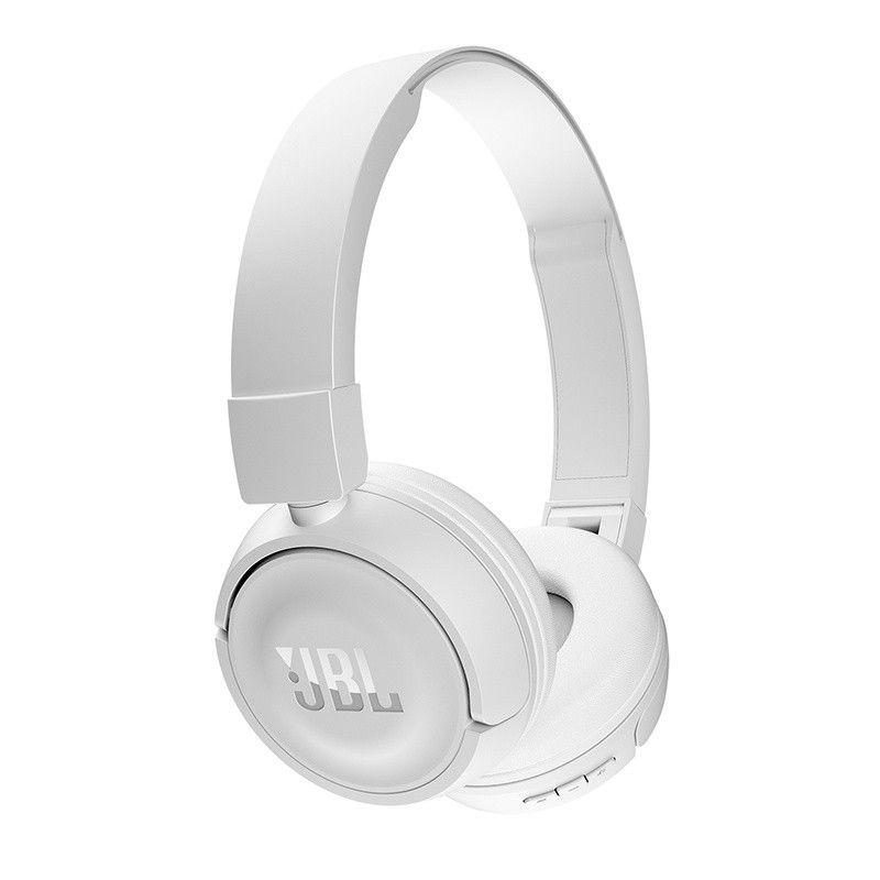 Fone Bluetooth JBL T450BT - Dobrável, Compacto, até 11 horas de reprodução - Branco
