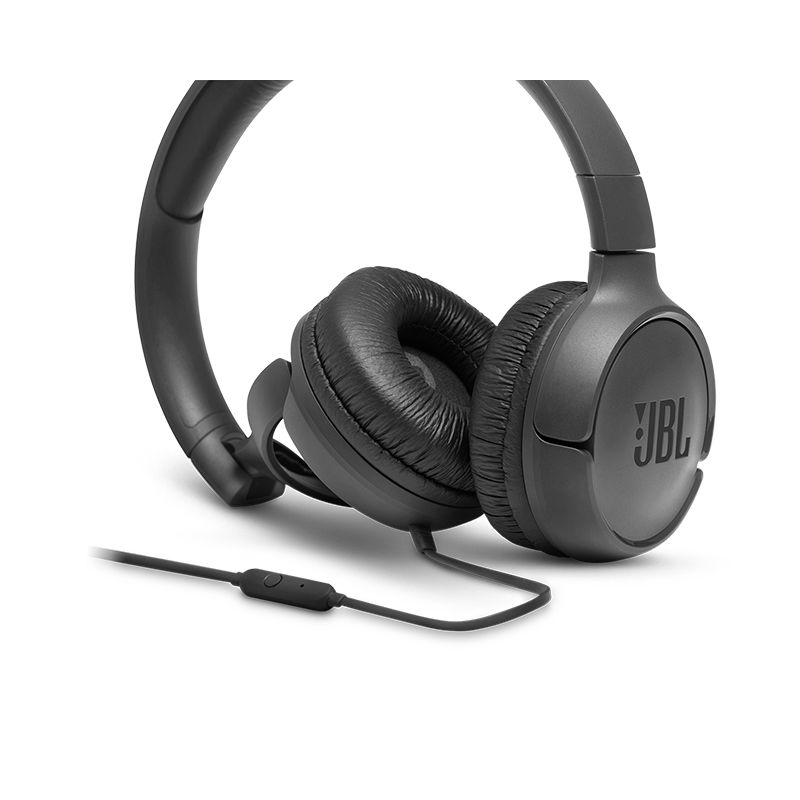 Fone de ouvido JBL Tune 500 preto supra-auricular - T500