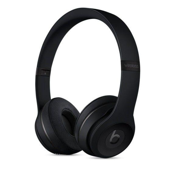 Fone de ouvido Beats Solo3 Wireless - Bluetooth, Carregamento rápido Fast Fuel - MP582 Preto