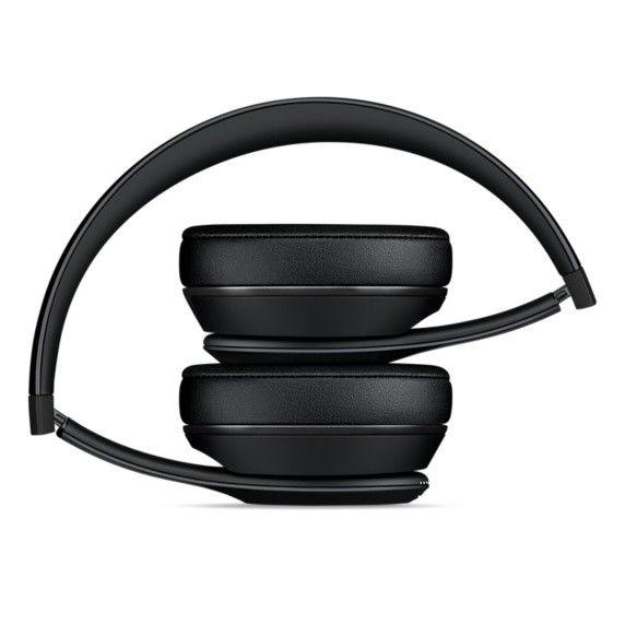 Fone de ouvido Beats Solo3 Wireless - Supra-auricular, Bluetooth, Carregamento rápido com Fast Fuel  - MP582 (Preto)