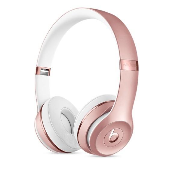Fone de ouvido Beats Solo3 Wireless - Supra-auricular, Bluetooth, Carregamento rápido com Fast Fuel - MP582 (Ouro Rosa)