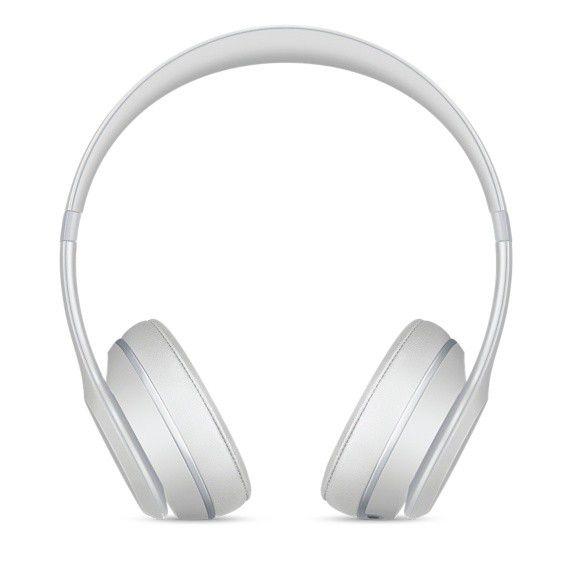 Fone de ouvido Beats Solo3 Wireless - Bluetooth, Carregamento rápido Fast Fuel - MR3T2 Prata Fosco