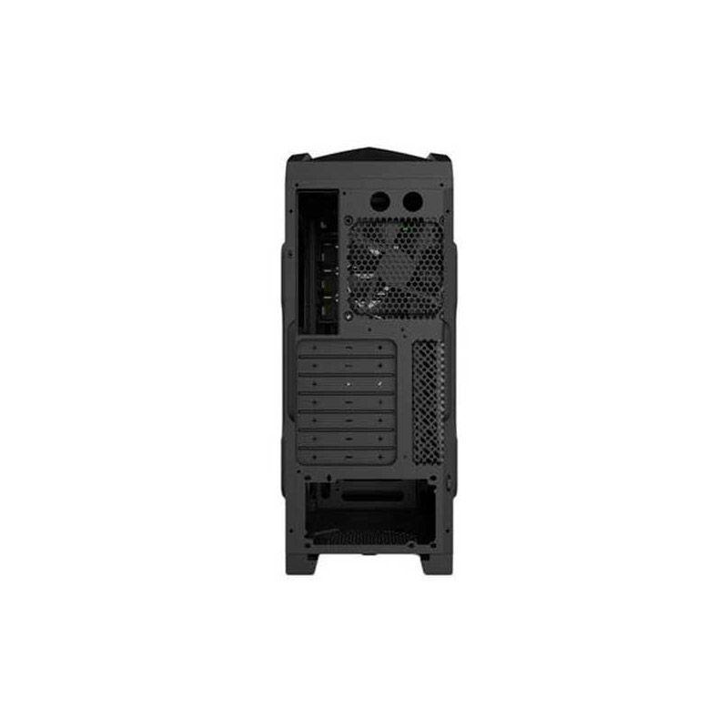 Gabinete GameMax G530B - ATX, Preto com LED Azul