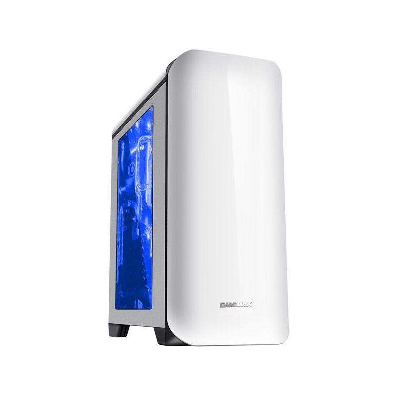 Gabinete GameMax HG602 - Full Window, Branco