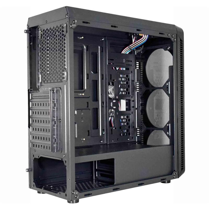 Gabinete Gamer K-mex Infinity III RGB Mid Tower CG-03G8
