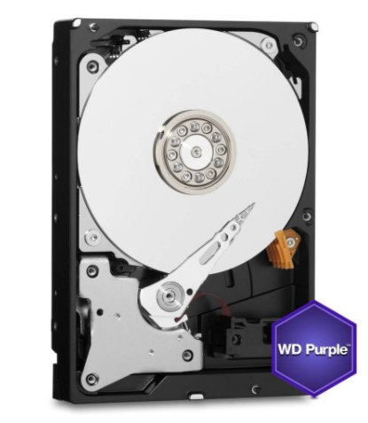 HD 8TB  WESTERN DIGITAL WD PURPLE, SATA3 5400, 128M, 3.5""