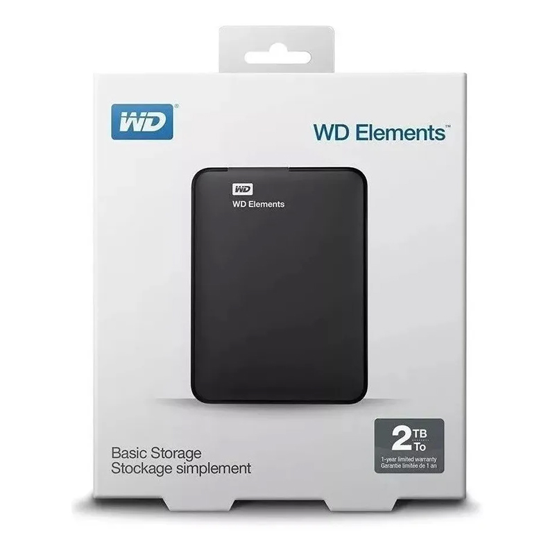 HD Externo 2TB WD Elements USB 3.0