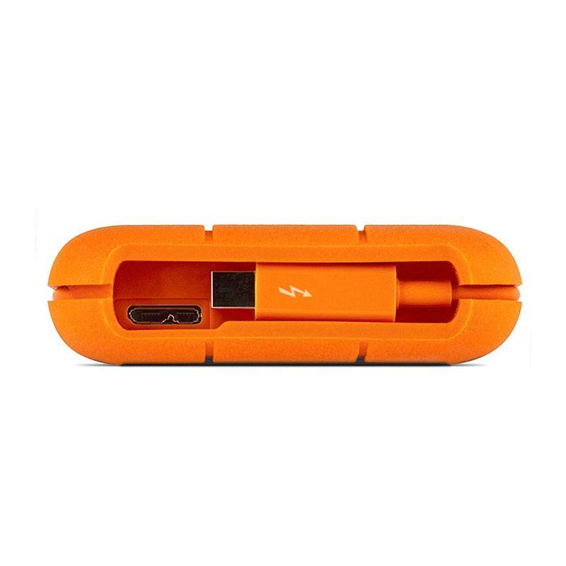 HD Externo LaCie Portátil Rugged - 1TB, Thunderbolt, USB 3.0