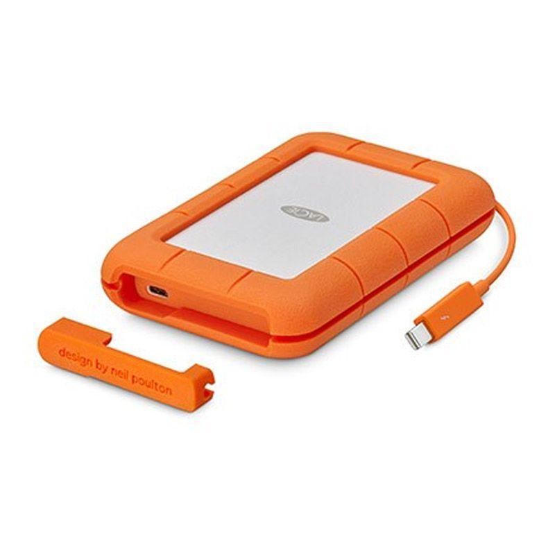HD Externo LaCie Portátil Rugged - 2TB, Thunderbolt, USB-C
