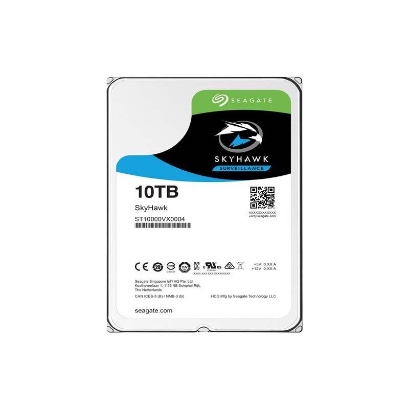 HD para Desktop, 10TB, Seagate Skyhawk Surveillance Barracuda, Sata3, 256Mb