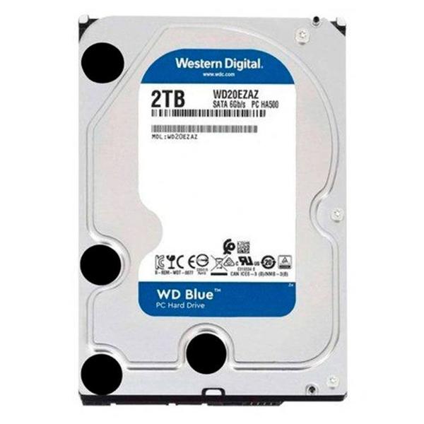 """HD 2TB 3.5"""" Western Digital Blue - SATA 3, 5400RPM, Buffer 256MB"""