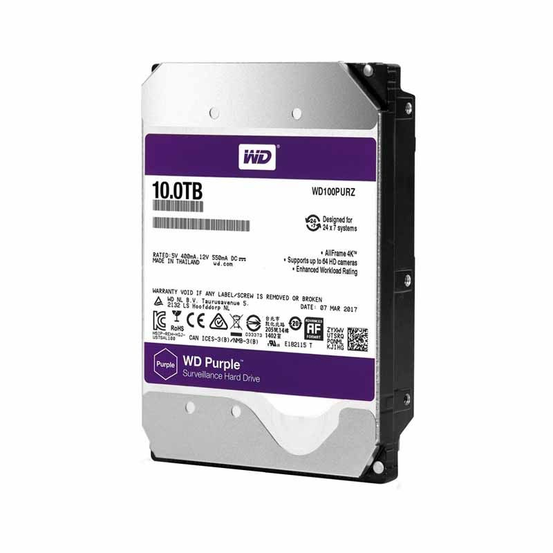 HD para desktop WESTERN DIGITAL WD 10TB, SATA3 5400 RPM, 256MB